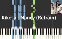 Kikesa - Nancy (Piano Tutoriel Synthesia) 🎹 + Bonus partition  🎼