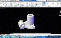 Leçon 6 Autocad :comment réaliser une pièce 3D avec  Mise en Plan à partir Espace d'Objet/ORIYANE