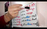 Leçon N ° 5 Ecrire en lettres les nombres de 10 à 19 en français