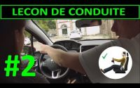 Leçon de conduite #2 PREMIERE Leçon - Installation au poste de conduite PART 2