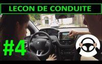 Leçon de conduite #4 PREMIERE Leçon - Trajectoire volant