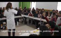 Leçon modèle de Français : La mise en train:Chants,Poèmes,Contes et Comptines.
