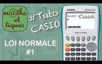 PROBA : Calculer une probabilité pour une loi normale - Tutoriel CASIO
