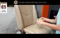 RÉPARATION ET RECOLORATION CUIR : TUTORIEL RENOVATION SIEGE AUTO CUIR - SOFOLK