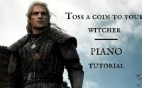 [TUTO] Toss a coin to your witcher 🎹 piano tutoriel - THE WITCHER (Série NETFLIX)