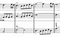Troisième leçon de ténèbres à 2 voix (F. Couperin) Score Animation