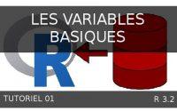 Tutoriel 01 R  - Les variables basiques