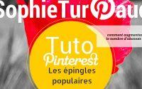 Tutoriel Pinterest : utiliser le pouvoir des épingles tendances