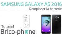 Tutoriel Samsung Galaxy A5 2016 : remplacer la batterie HD
