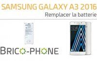 Tutoriel Samsung galaxy A3 2016 : changer la batterie démontage + remontage HD