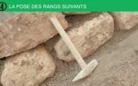 Tutoriel les bons gestes du maçon  : réaliser un mur en pierre maçonnée