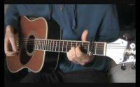 Wonderwall tutoriel guitare