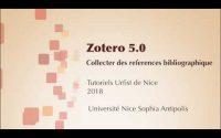 ZOTERO 5.0 Tutoriel n°4: Collecter des références bibliographiques (1/2)