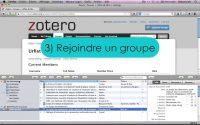 ZOTERO Tutoriel n°6 : Partage de références bibliographiques