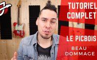 APPRENDRE « LE PICBOIS » DE BEAU DOMMAGE À LA GUITARE - Cours de guitare - Tutoriel et Tablature