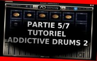 "Addictive Drums 2 - Tutoriel 5/7 - La page ""Edit"" partie d'édition - XLNaudio - fr"