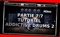 """Addictive Drums 2 - Tutoriel 7/7 Dernière partie - Partie 7/7 Le menu """"Informationt"""" - fr"""