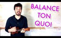 Balance Ton Quoi - Angèle - Tutoriel ukulélé facile