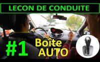 Boite AUTOMATIQUE - Leçon de conduite #1