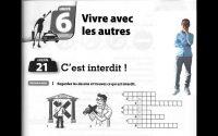 Cahier d'exercices le nouveau taxi 1 Leçon 21 C'est Interdit !