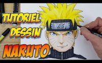 Comment dessiner Naruto - Tutoriel facile étape par étape!