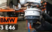 Comment remplacer des support moteur sur BMW 3 (E46) [TUTORIEL AUTODOC]