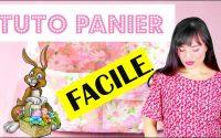 Coudre un petit panier mignon: tutoriel couture facile