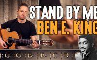 Cours de guitare débutant : Apprendre Stand By Me de Ben E. King