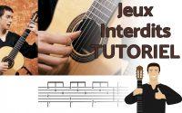 Jeux Interdits - Tutoriel à la guitare