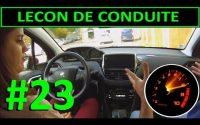 Leçon de conduite #23 - Quand, A quel moment changer les vitesses