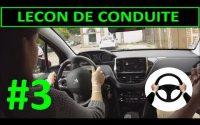Leçon de conduite #3 PREMIERE Leçon - Utilisation du VOLANT