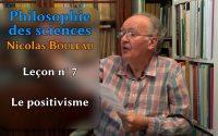 Leçon n°7 : le positivisme