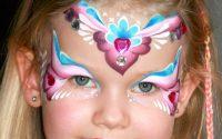 Maquillage de  princesse des coeurs - Tutoriel maquillage des enfants