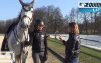 Mon cheval se précipite à l'obstacle : La Leçon de Virginie