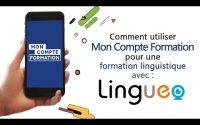 MonCompteformation Tutoriel Lingueo