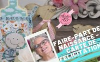 REALISER UNE CARTE BIBERON FAIRE-PART ou CARTE DE FELICITATIONS DIY  ✂️Tutoriel ADULTES 👍©A63