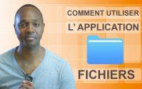 TUTORIEL | COMMENT UTILISER L' APPLICATION FICHIERS SUR UN IPHONE | IPAD