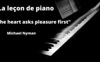 The Heart Asks Pleasure First de Michael Nyman (La leçon de piano)