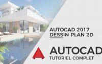 Tutoriel Autocad 2017 - Dessin plan maison RDC en 25 minutes