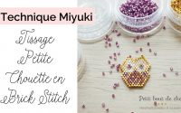 Tutoriel Tissage Petite Chouette en Brick Stitch et Perles Miyuki (English subtitles)