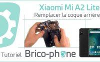 Tutoriel Xiaomi Mi A2 Lite : changer la coque arrière