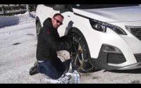 Tutoriel : comment monter des chaînes à neige