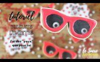 Tutoriel de biscuits lunettes pour le saint-valentin, j'ai des yeux que pour toi.
