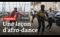 Une leçon d'afro dance
