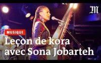 Une leçon de kora avec Sona Jobarteh