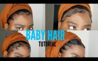 4 STYLE DE BABY HAIR TUTORIEL (Edge tutorial) | Nassrati