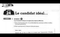 Cahier d'exercices le nouveau taxi 1 Leçon 24 : Le Candidat Idéal