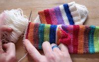 Chaussettes Toe-Up - Leçon 4 - Côtes et finition