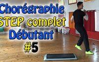 Chorégraphie STEP débutant #5 - Cours de STEP complet français - Apprendre le step