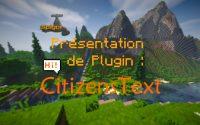 CitizensText - Tutoriel